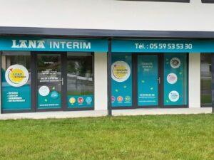 Nouveau locaux pour l'agence Lana Intérim à Saint-Jean-Pied-de-Port