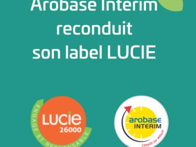 Arobase reconduit son label LUCIE